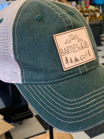 BARTLESchill Leather Patch Caps