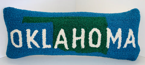 Oklahoma Pillow 8 x 20