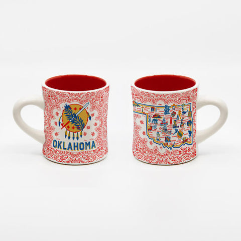 All Around Oklahoma Stoneware Mug