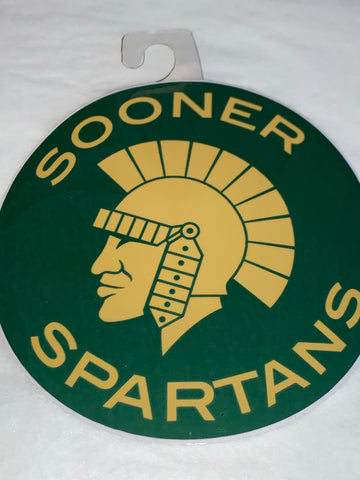 Sooner Spartan Spirit Badge