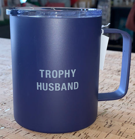 Trophy Husband Insulated Coffee Mug