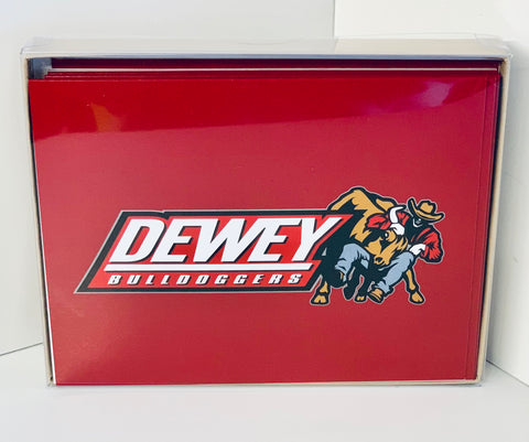 Dewey Bulldogger Note Cards with Envelopes