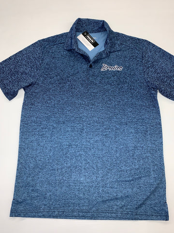 Bruin Script Ombre Heather Polo