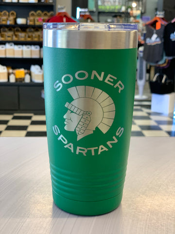 Sooner Spartans Insulated Tumbler