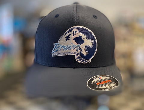Flex Fit Metallic Bruin Navy Cap