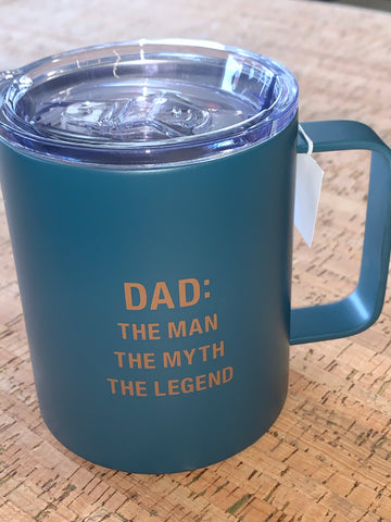 Dad, the Legend Insulated Coffee Mug