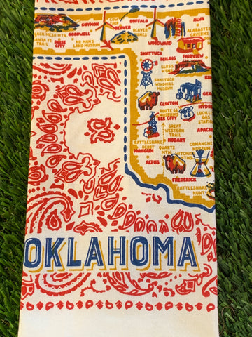 All Around Oklahoma Towel