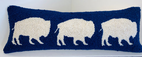 Buffalo Trio Pillow