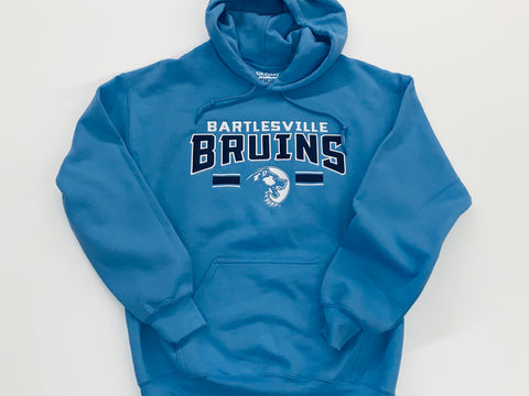 Columbia Blue Embroidered Hoodie