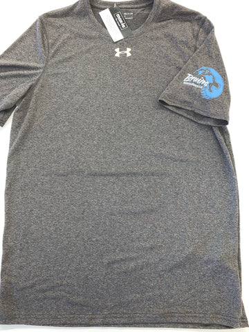 Under Armour Gray Logo On Sleeve