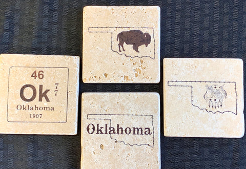 Oklahoma Made Coaster