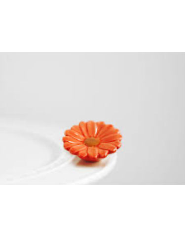 Flower Power Mini  ( Orange ) by Nora Fleming
