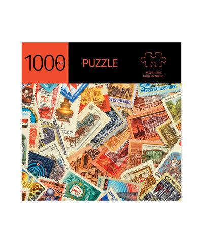 1000 Piece Stamps Puzzle