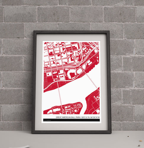 Cincinnati Reds Ballpark Map