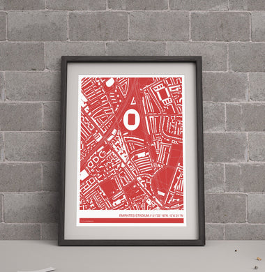 Arsenal Stadium Map