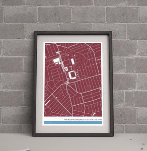 West Ham United FC Stadium Map
