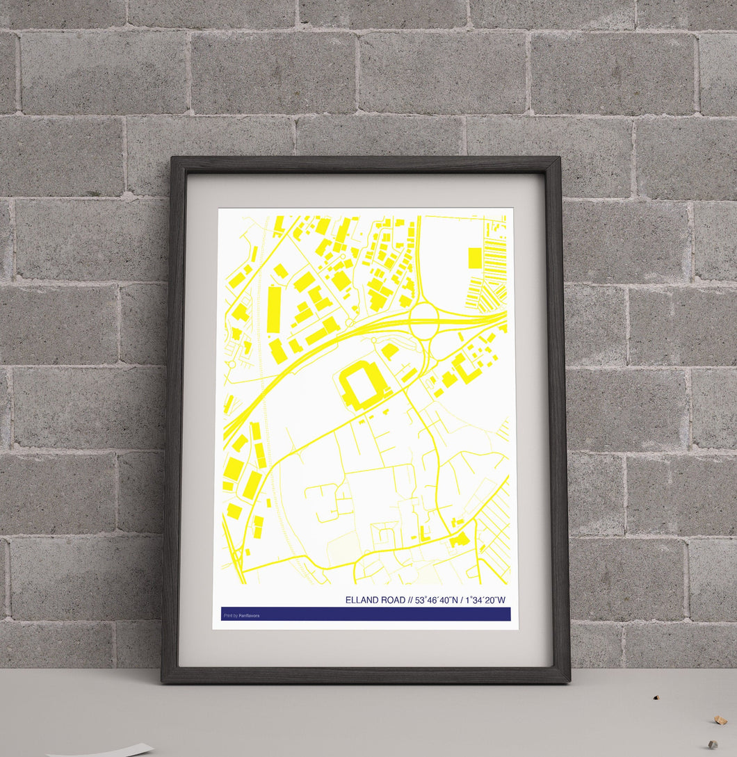 Leeds Utd Stadium Map