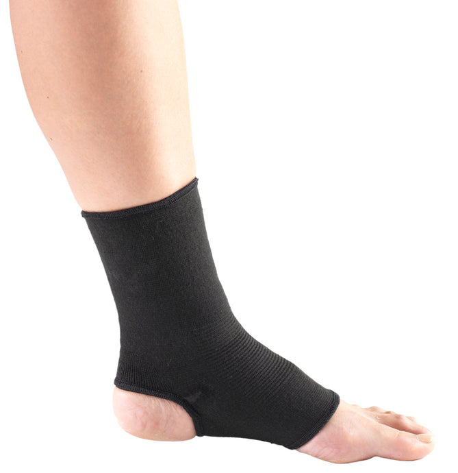 C-215 / BLACK ELASTIC ANKLE SUPPORT