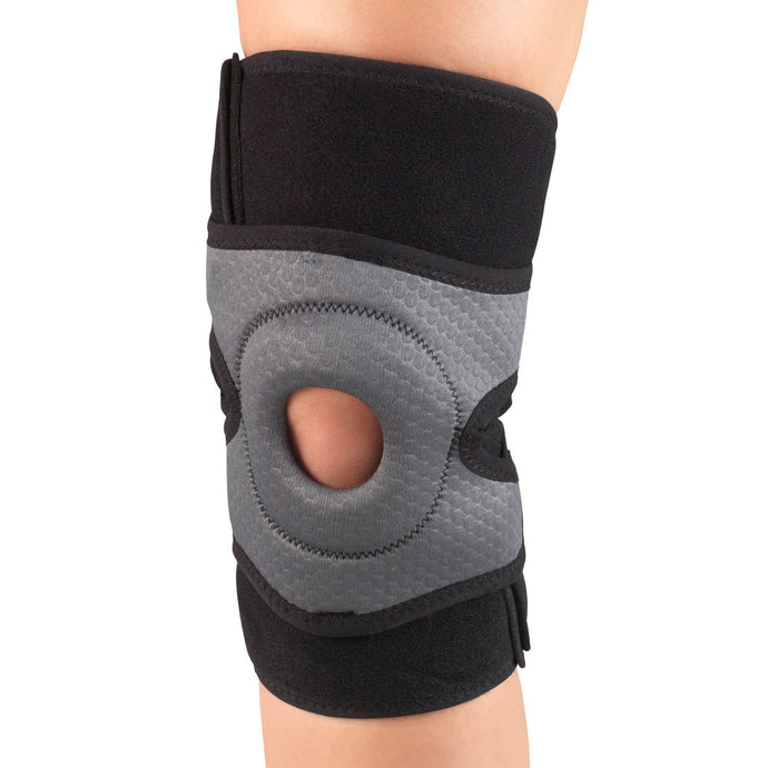 C-476 / MULTILAYER KNEE WRAP WITH STABILIZER PAD