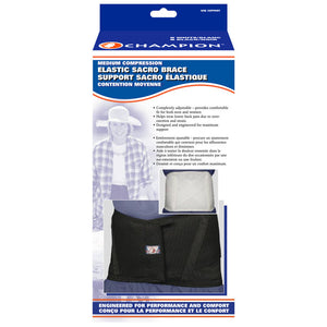 C-1320 / MEDIUM COMPRESSION ELASTIC SACRO BRACE