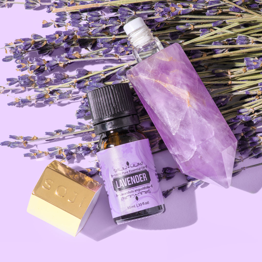Our Top 5 Essential Oil Blends to Use in Your SOJI Beauty High Roller