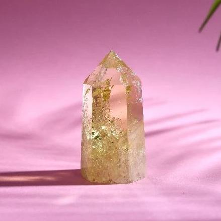 "2"" Citrine Quartz Tower Soji Energy"