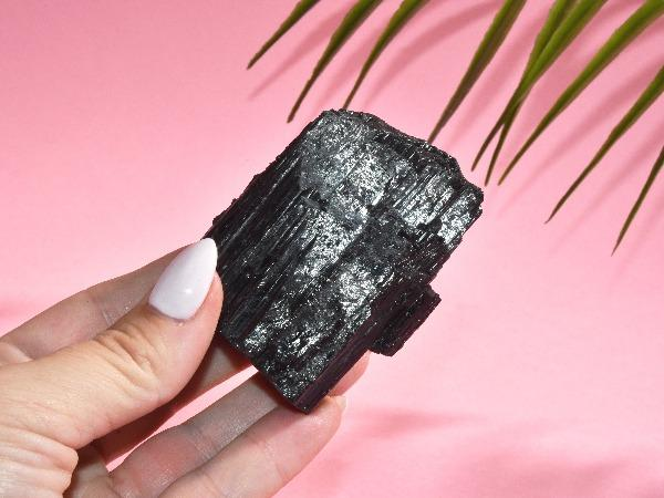Black Tourmaline Raw Specimen | 140 Soji Energy