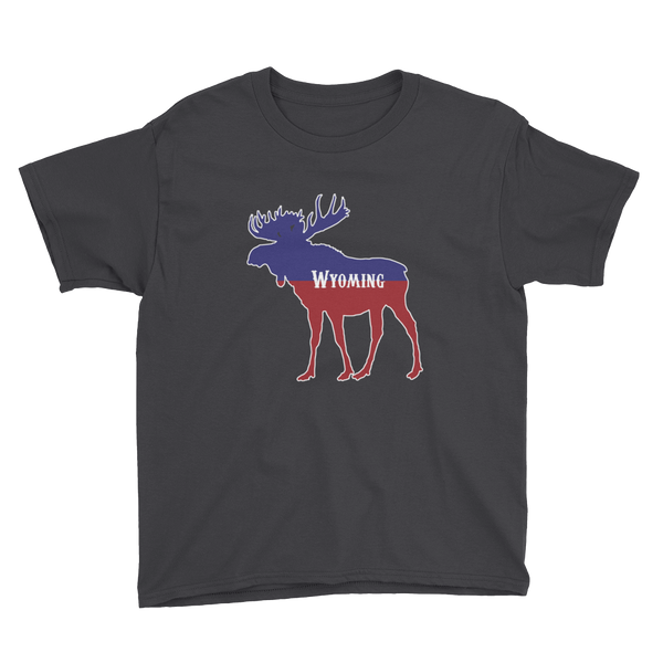 Wyoming Moose - Kid's/Youth Short Sleeve