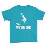 Ski Wyoming - Kid's/Youth Short Sleeve
