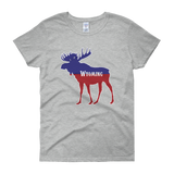 Wyoming Moose - Women's Short Sleeve