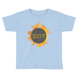 2017 Solar Eclipse Watercolor Burst - Kid's/Toddler Short Sleeve