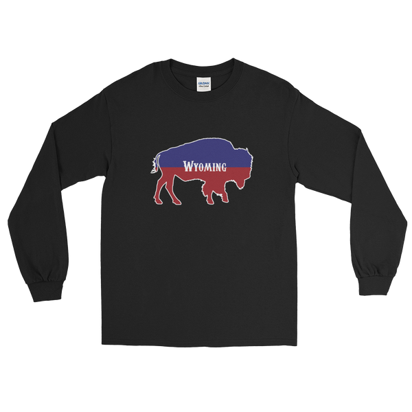 Wyoming Bison Long Sleeve - Men's/Unisex