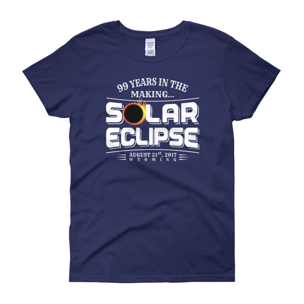 "WYOMING ""99 Years in the Making"" Eclipse - Women's Short Sleeve"