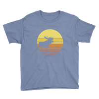 Wyoming Sun Moose - Kid's/Youth Short Sleeve