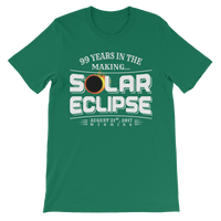 "WYOMING ""99 Years in the Making"" Eclipse - Men's/Unisex Short Sleeve"