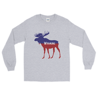 Wyoming Moose - Men's/Unisex Long Sleeve