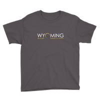 """Headed to Totality"" Wyoming - Kid's/Youth Short Sleeve"