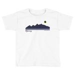 Grand Teton Silhouette 2017 Solar Eclipse - Kid's/Toddler Short Sleeve