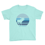 Wyoming Moon Moose - Kid's/Youth Short Sleeve