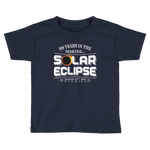 "WYOMING ""99 Years in the Making"" Eclipse - Kid's/Toddler Short Sleeve"