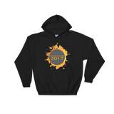 Eclipse Watercolor Burst Hoodie - Unisex