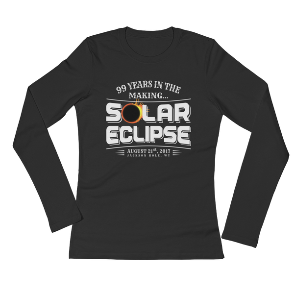 "JACKSON HOLE ""99 Years in the Making"" Eclipse - Women's Long Sleeve"