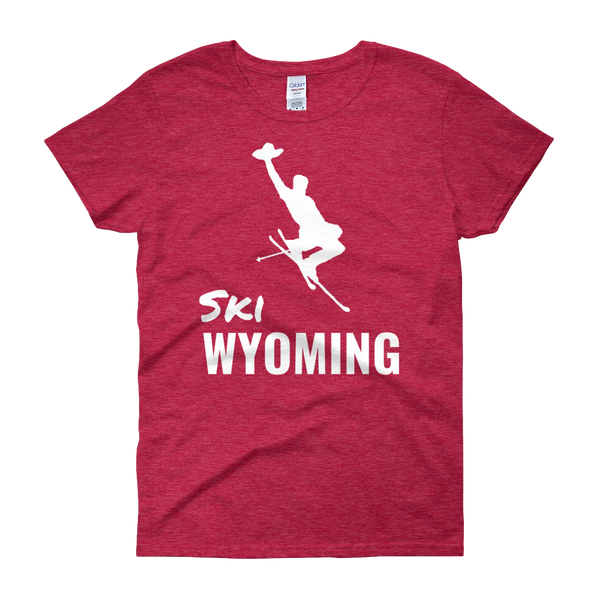 Ski Wyoming - Women's Short Sleeve