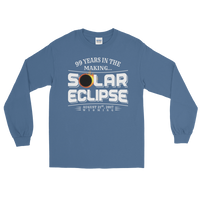 "WYOMING ""99 Years in the Making"" Eclipse - Men's/Unisex Long Sleeve"