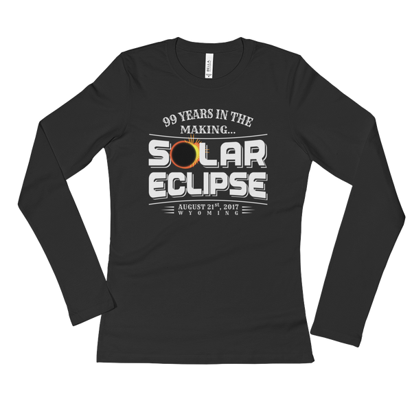 "WYOMING ""99 Years in the Making"" Eclipse - Women's Long Sleeve"