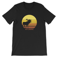Wyoming Sun Moose - Men's/Unisex Short Sleeve