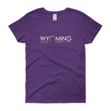 """Headed to Totality"" Wyoming - Women's Short Sleeve"