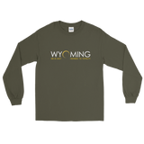 """Headed to Totality"" Wyoming - Men's/Unisex Long Sleeve"