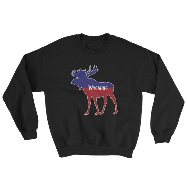 Wyoming Moose Sweatshirt - Unisex