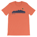 Grand Teton Silhouette 2017 Solar Eclipse - Men's/Unisex Short Sleeve